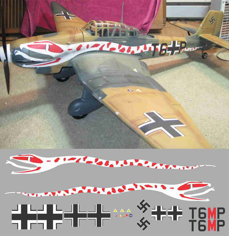 Stuka T6+MP Graphics Set