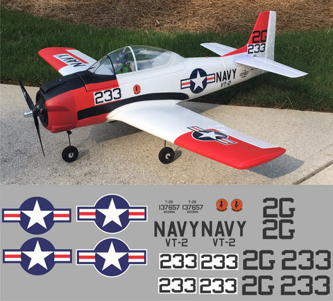 T-28 VT-2 #137657 Graphics Set