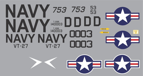 T-28B VT-27 #140003 Graphics Set