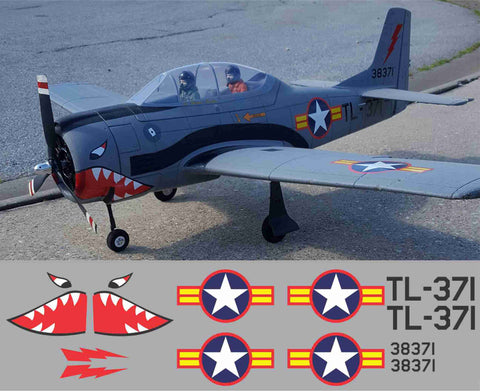 T-28 Vietnam #38371 Graphics Set