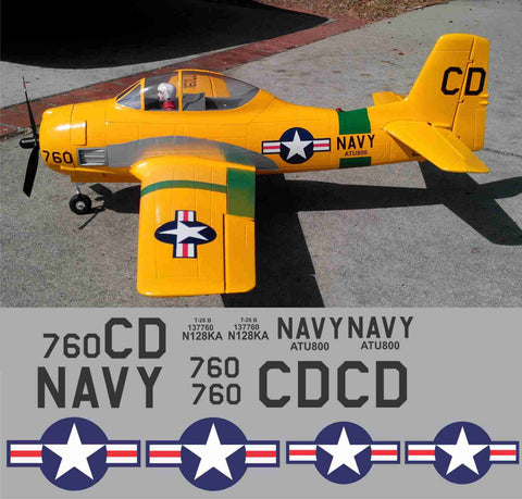 T-28 NAVY ATU 800 Graphics Set