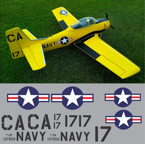 T-28 US Navy Training Squadron VT-5 Graphics Set