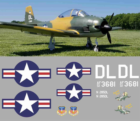 T-28 Swamp Fever Graphics Set