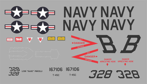 T-45C BuNo 167106 Graphics Set