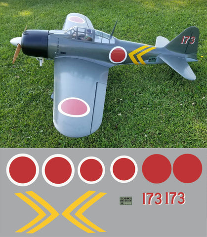 A6M Zero 173 Graphics Set