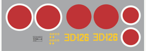 A6M Zero YoD-126 Graphics Set