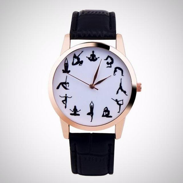 Yoga Pose Watch - Yoga Jewelry - Prima Petal