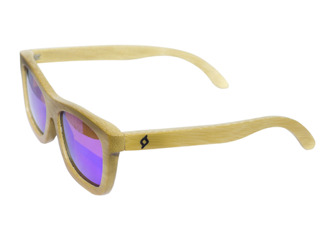 NATURAL BAMBOO SUNGLASSES