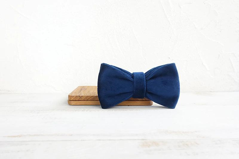 Dark Blue Bow Tie - Barker & Bone