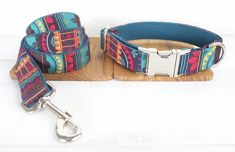 Dog Collar & Leash | Mayan - Barker & Bone