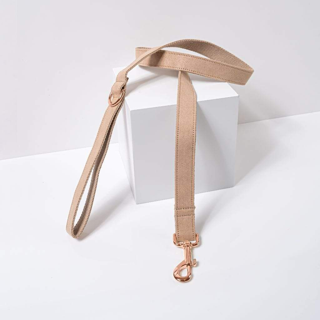 Luxe Dog Leash | Cream - Barker & Bone