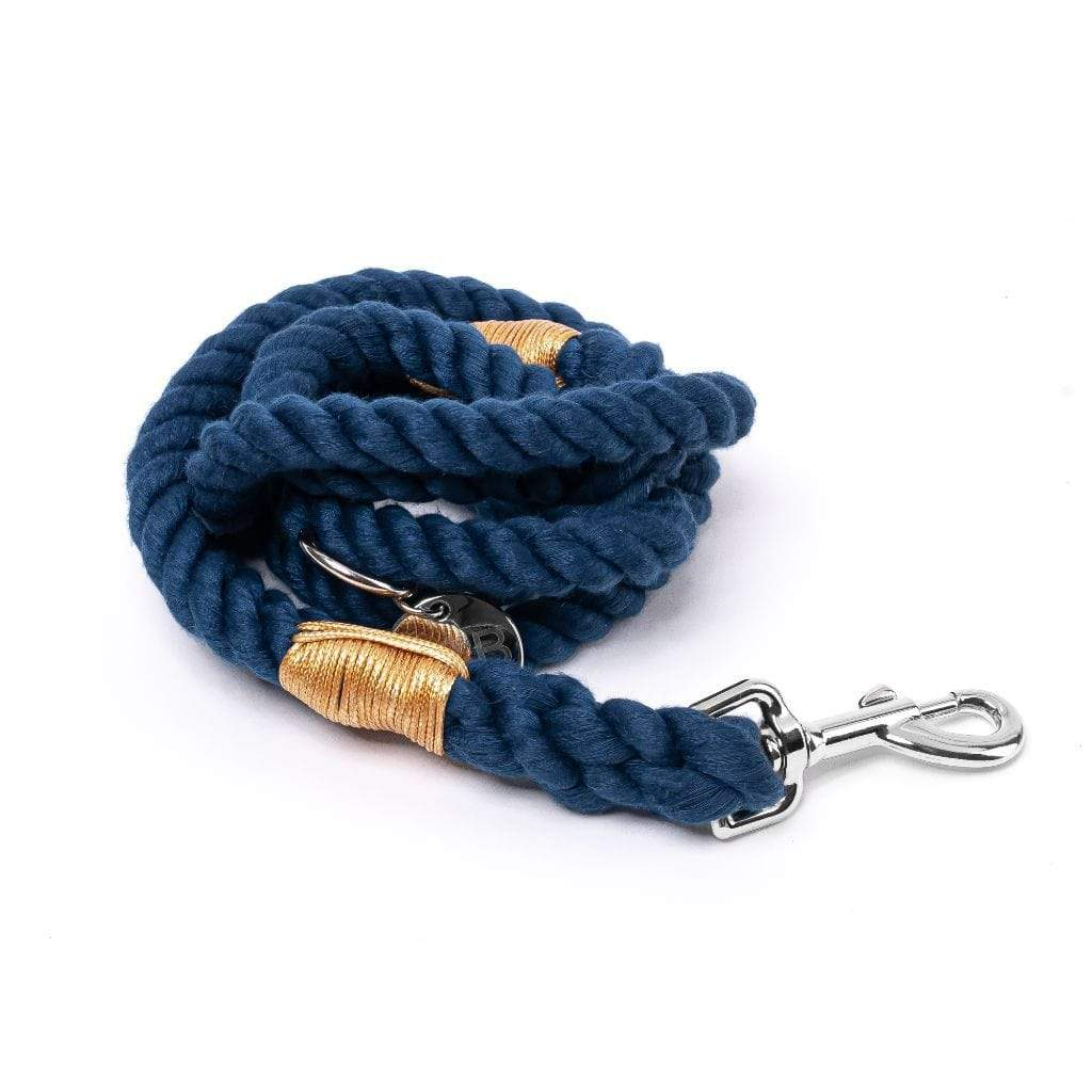 Rope Dog Leash | Dark Navy - Barker & Bone