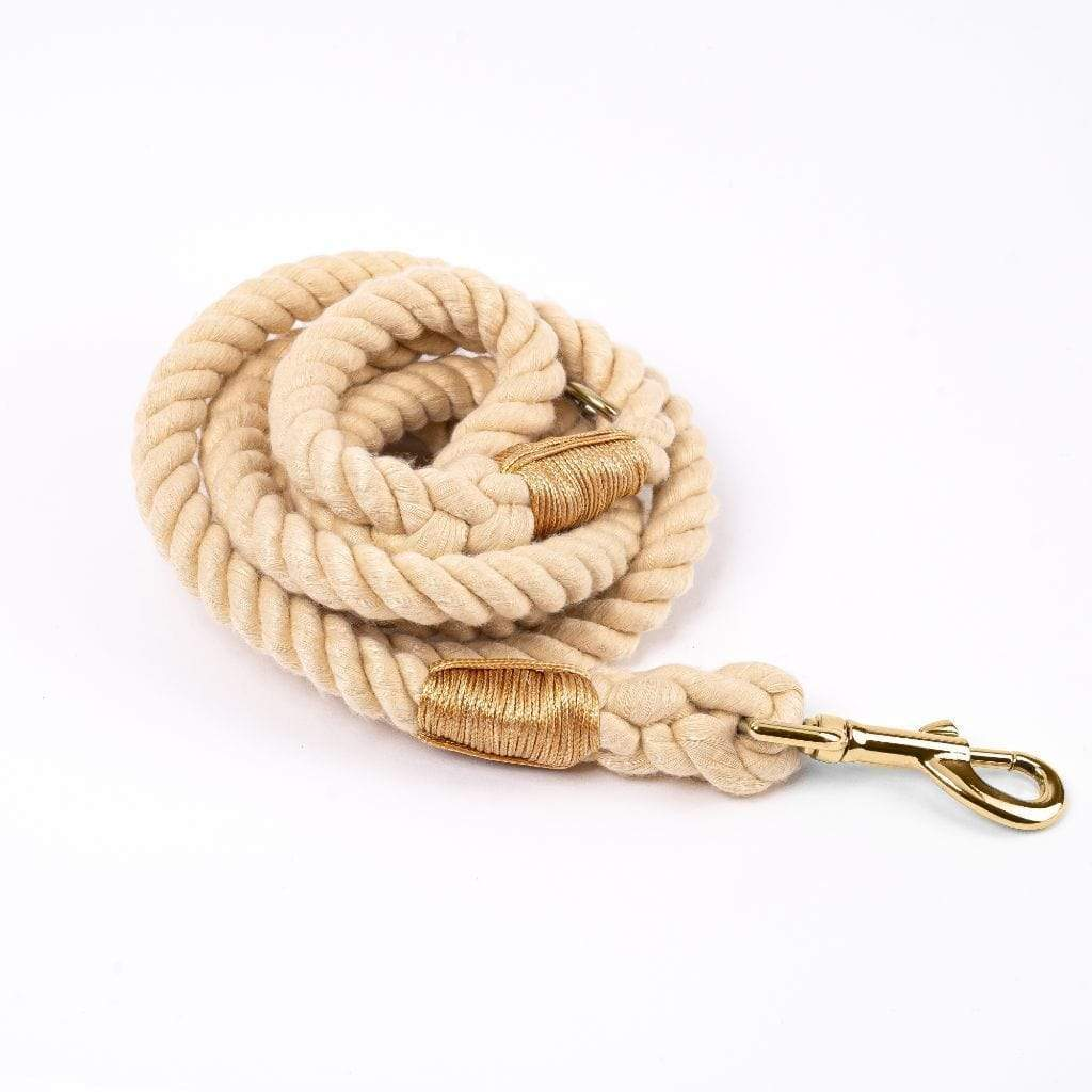 Rope Dog Leash | Sunlight - Barker & Bone