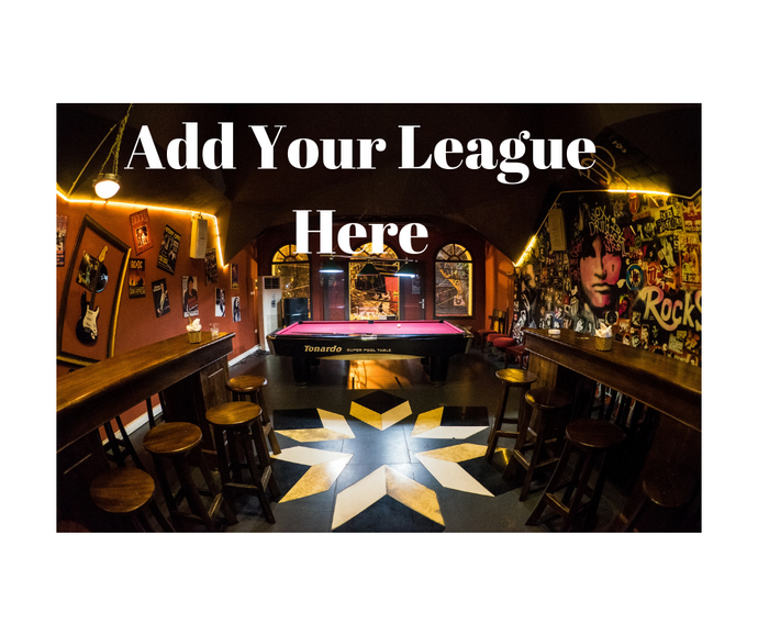 Add Your League Here - No Upfront Costs