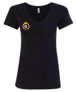 Ladies V Neck T - Great Pool Starts Here