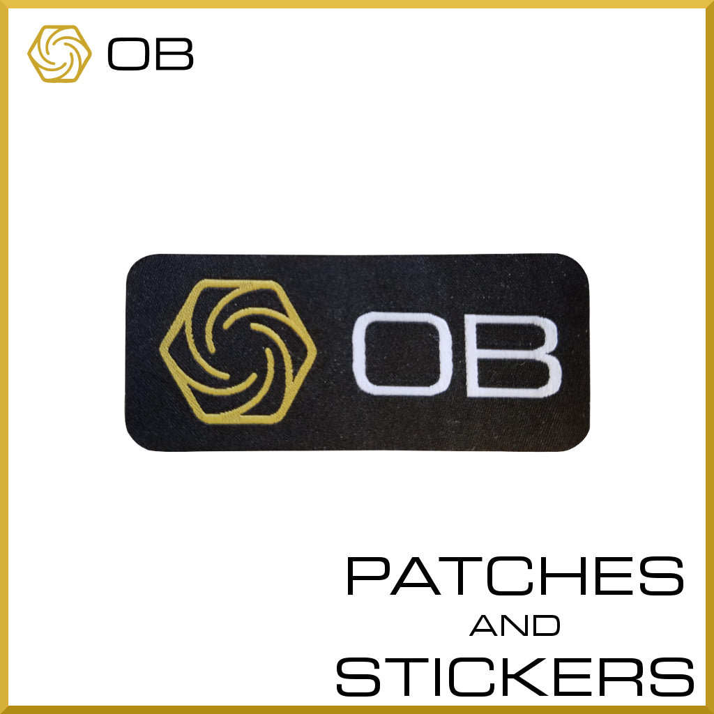 OB Patches and Stickers
