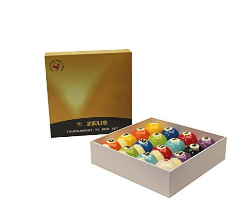 Cyclop TV Edition ZEUS Billiard Ball Set