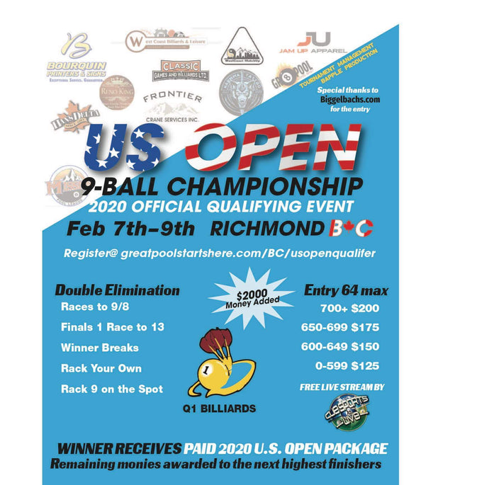 REGISTER FOR BC US OPEN QUALIFIER