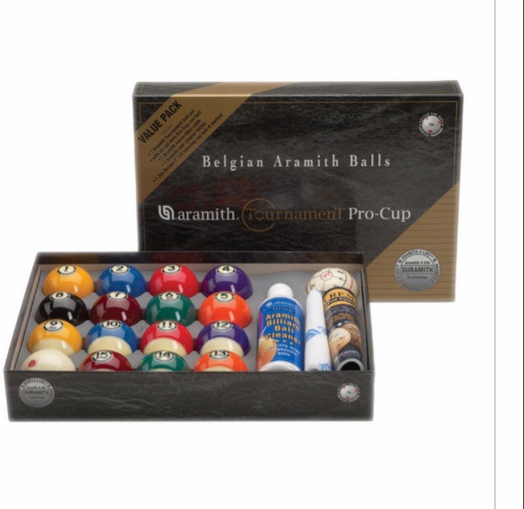 Aramith Tournament Value-Pack Billiard Ball Set