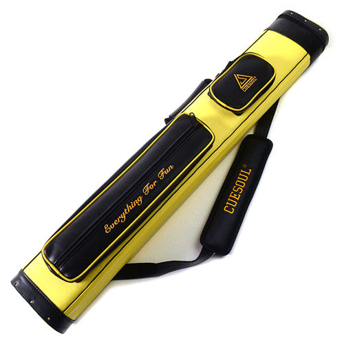 Hard Pool Cue Case -Holds 2 Cues