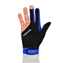 Billiard Gloves Shooters 3 Fingers Lycra stretch 5 colors - Left Hand