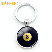 Billiards pattern keychain - 16 Style Choices