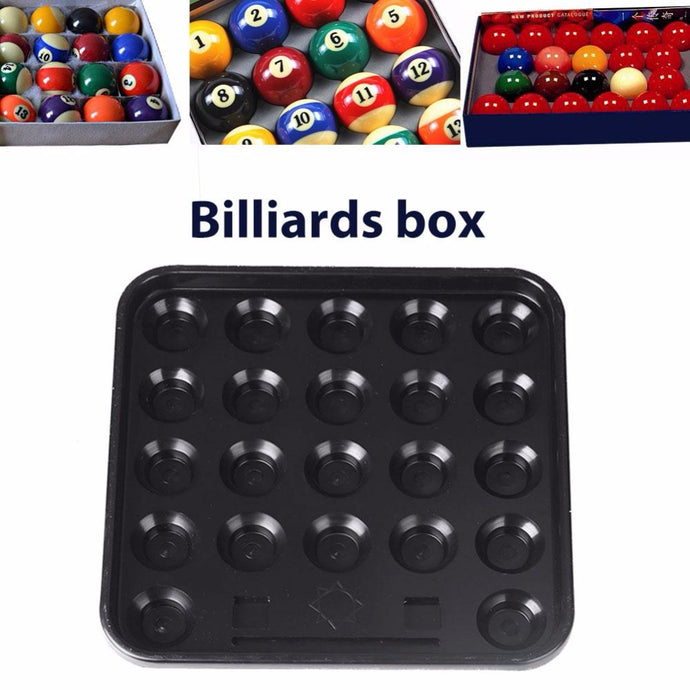 22 Holes Black Plastic Square Case Container