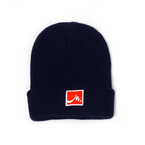 Navy Beanie - Red Label