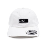 White Dad Hat - Black Label