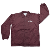 Coach Jacket - Burgundy