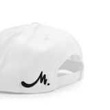 White Snapback - Black Label