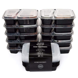 Food Storage Containers Stackable With Lids - SET OF 10