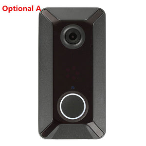 KuDiff V6 HD 720P Video Door Bells Wireless WiFi Smart Doorbell Waterproof IP Door Chime Visual Intercom for Home Security Camera