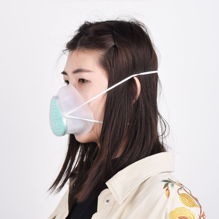 S8 Self-Suction Filtering Respirator Soft Mask 95% Filteration Face Mouth Mask PM2.5 Dustproof Bacteria Proof Masks 마스크 マスク