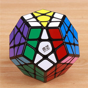 QIYI megaminxeds magic cubes stickerless speed professional 12 sides puzzle cubo educational toys for children