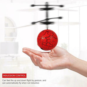 Flying Ball Infrared Induction Sensor Hand Control RC Helicopter Colorful Flashing LED Light Mini Aircraft Toys for Children