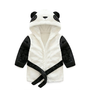 Cutie Animal Hooded Baby Bathrobe