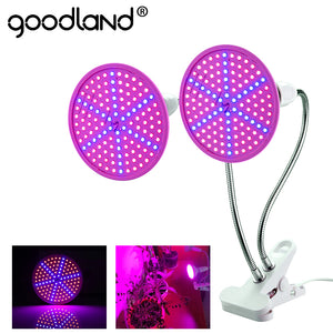 Goodland LED Grow Light E27 Fitolampy Full Spectrum Phyto Lamp With Clip For Plant Seedlings Flower Fitolamp Box Tent Indoor