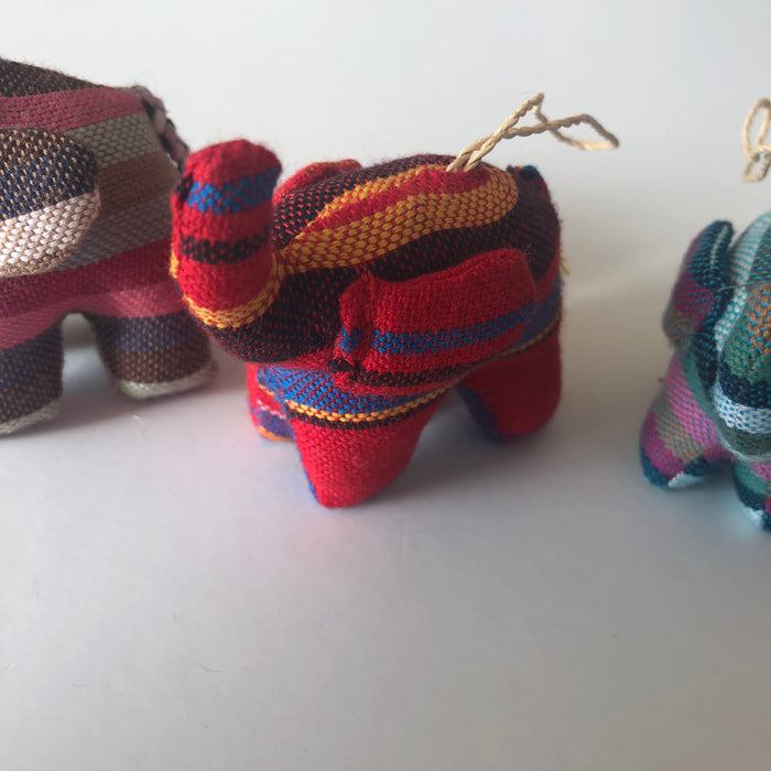 Kikoy Elephant Ornament