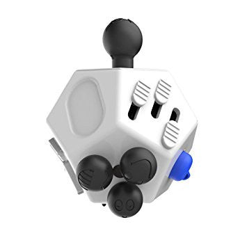 12 SIDED MAGIC DECOMPRESSION FIDGET CUBE DESK TOY STRESS ANXIETY RELIEF