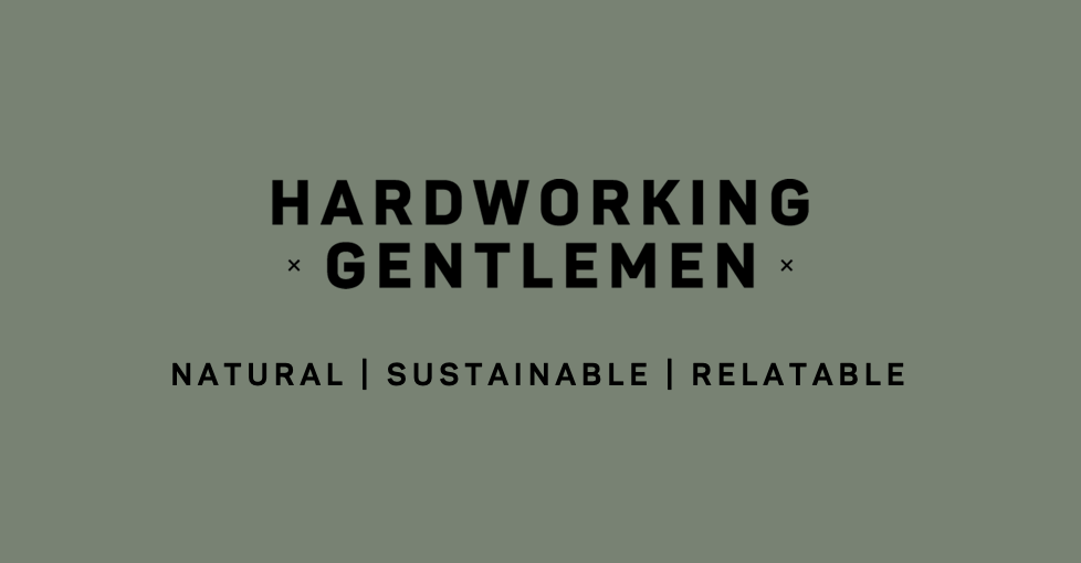 Hardworking Gentlemen Natural Men's Grooming
