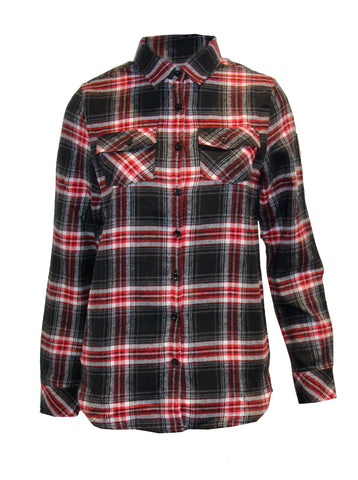 Flanellhemd Red Fox CH Logo Women's