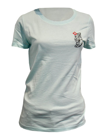 T-Shirt Red Fox CH Logo Women's