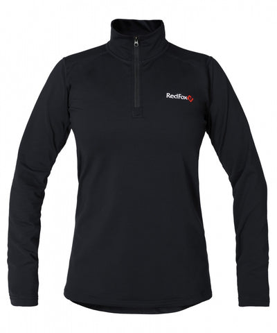 Baselayer Zip-Pullover Active Mid Women's