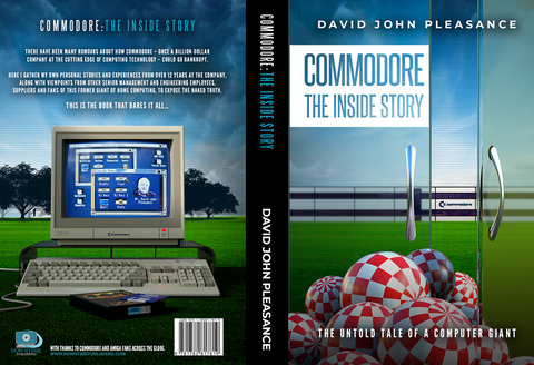 SEPTEMBER SALE SAVE 30% Commodore : The Inside Story Hardback book NOW £21.00 !!