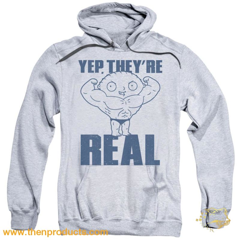 Family Guy - Real Build Adult Pull Over Hoodie