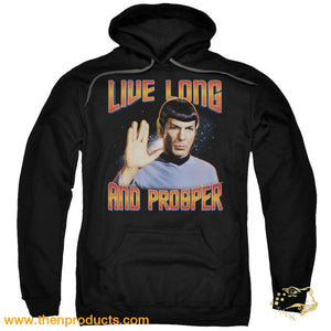 St Original - Live Long And Prosper Adult Pull Over Hoodie