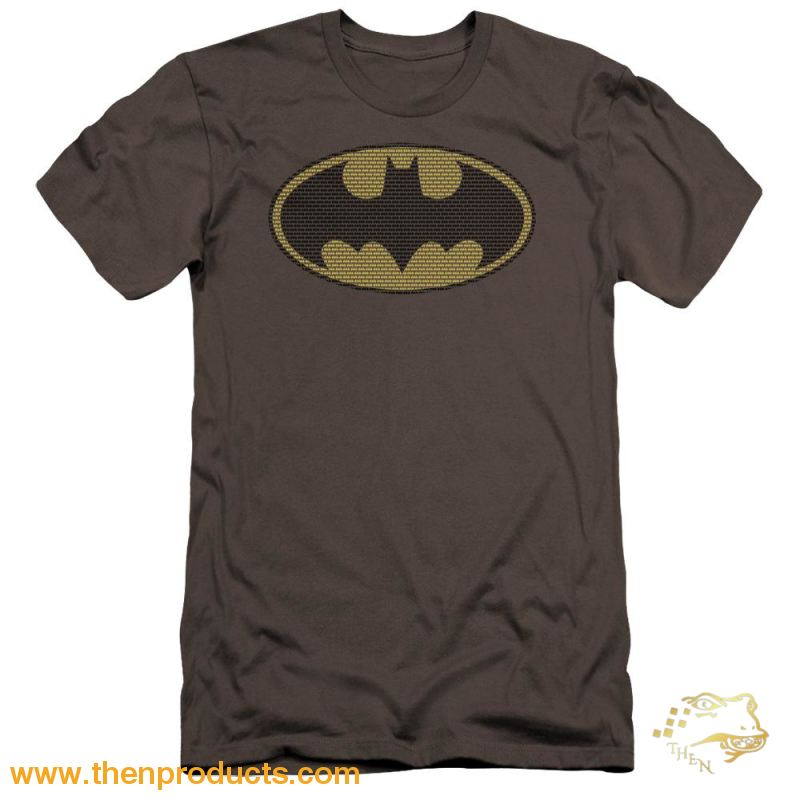Batman - Little Logos Premium Canvas Adult Slim Fit 30/1 - Then Products
