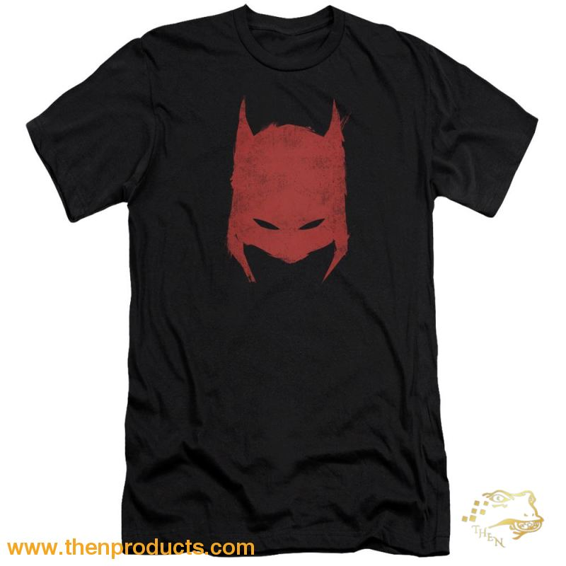Batman - Hacked & Scratched Premium Canvas Adult Slim Fit 30/1 - Then Products