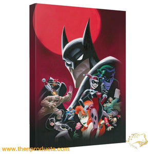 Batman - Animated Poster Canvas Wall Art With Back Board - Then Products